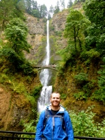 Multnomah falls. Portland is gorges?!