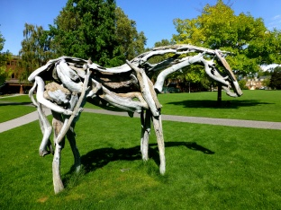 Art on Whitman campus