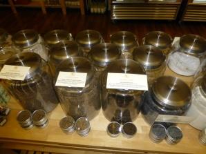 Salts at Salumiere