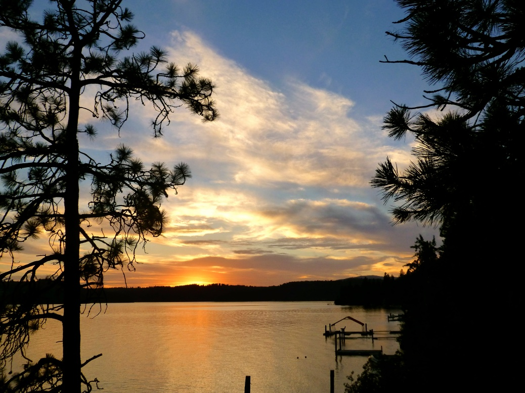 Another spectacular lake sunset