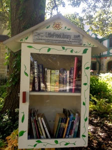 ::little free library::