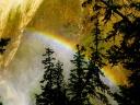Rainbow at Lower Falls