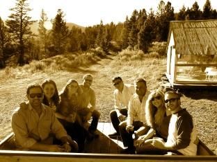 Wagon ride at Cache Creek