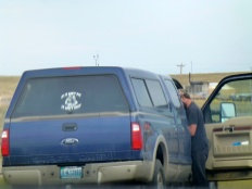 Check out the decal on rear window