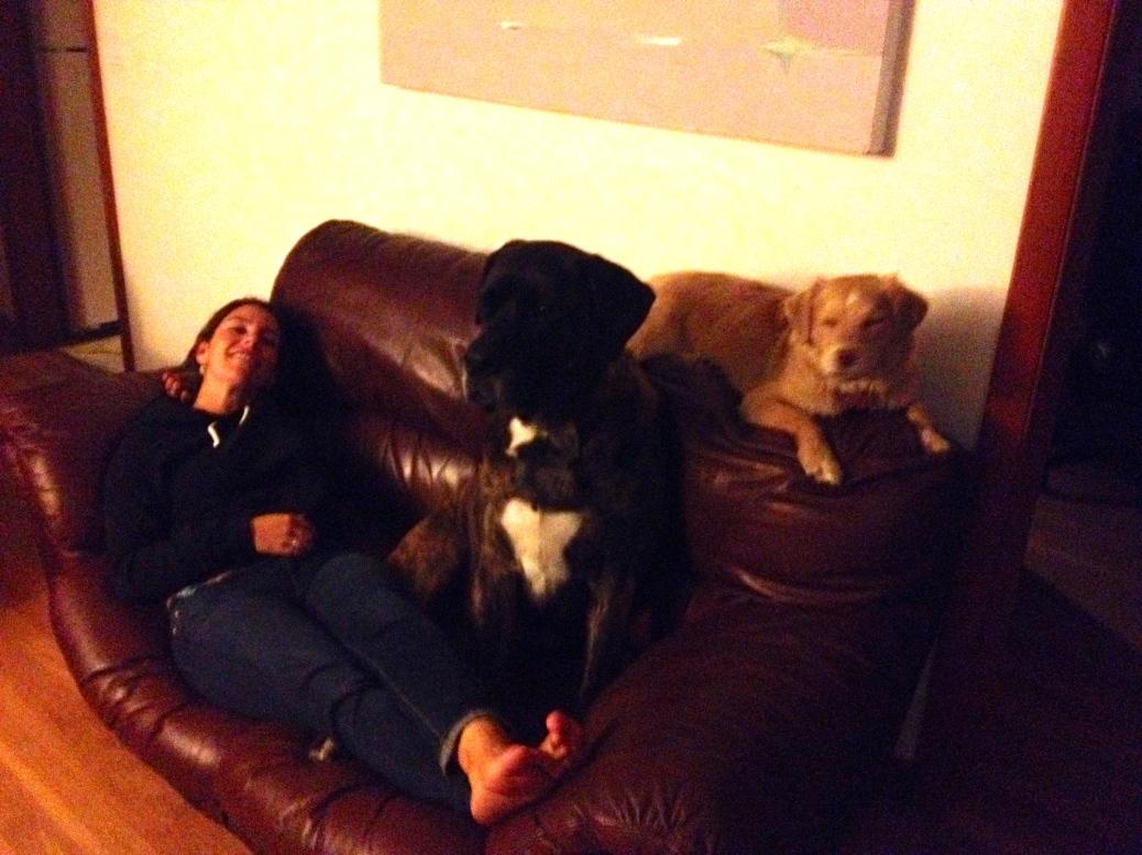 ::cuddling with my boys::