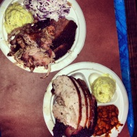 Meat plates at Franklin