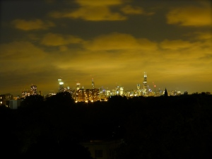::Chicago, as seen from Kenny's::