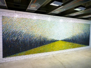 Nice mosaic in