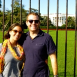 ::white house, obligatory around the world photo::