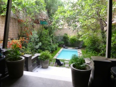 LBH courtyard from terrace