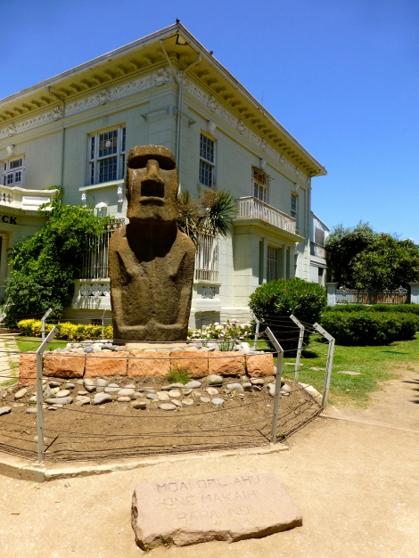 Moai at the Fonck