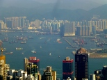 More west, from Victoria Peak