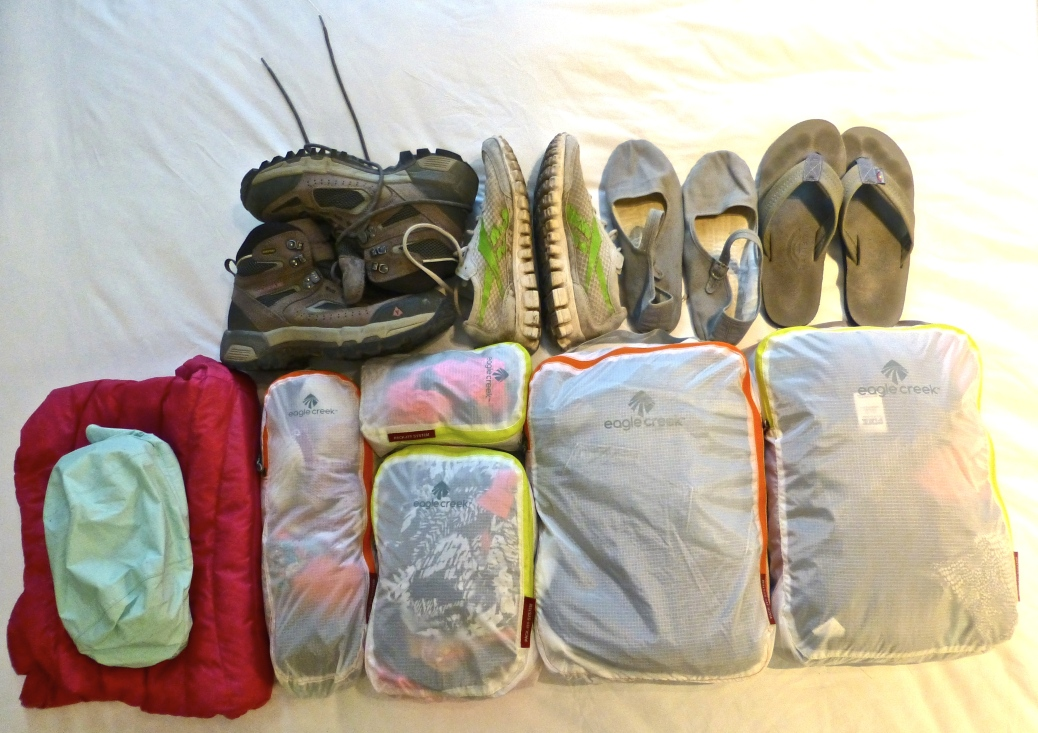 ::all my clothes and shoes::