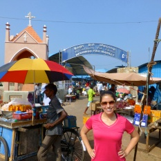 Negombo fish market
