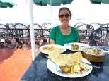 Chicken biryani and paratha