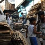 Cardboard Recycling in Dharavi