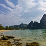 ::looking at Railay West from Ton Tsai::