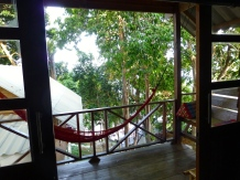 ::private deck and hammock::
