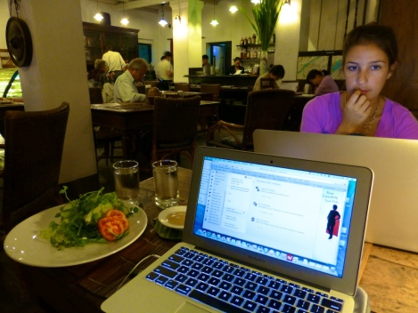 ::eating, blogging::