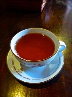 ::post-massage tea::