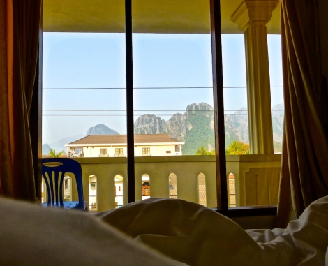 ::view from bed::