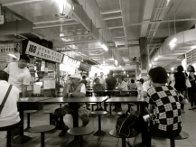 ::Chinatown food stall market::