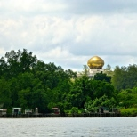 ::view of the palace from the water::