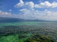 ::beautiful reefs in the middle of the big bay::