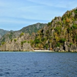 ::arriving in coron::