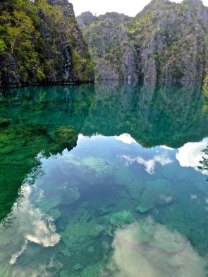 ::reflection in Kayangan Lake::