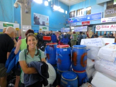 ::Kathmandu domestic airport - expedition gear::