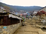 ::stairs through Namche::