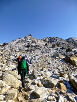 ::on the walk to Gorak Shep::