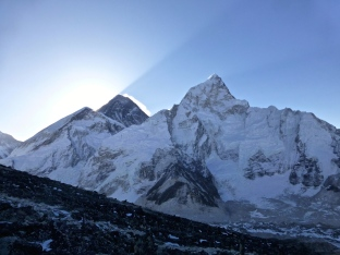 ::good morning Everest::