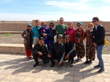 ::we're practically celebrities in Central Asia. everyone wants our photo!::