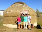 ::our humble yurt::