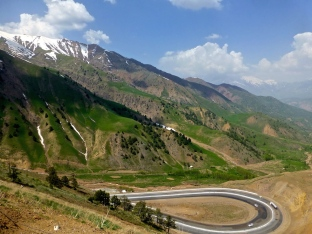 ::the road to Kyrgyzstan::
