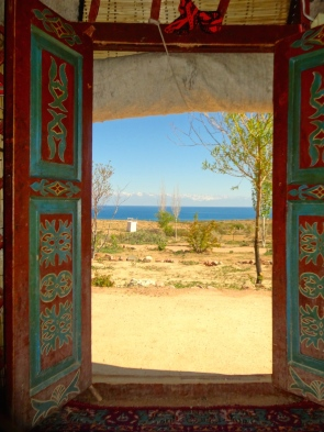 ::yurt with a view!::