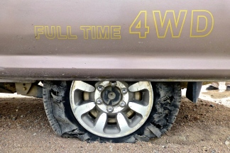 ::flat tire::