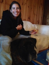 ::wine and dogs. life is good::