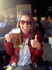 ::excited to have the beer stein in hand again::