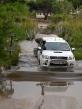 "::a self guided safari group crossing the ""bridge""::"